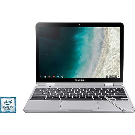 "SAMSUNG XE520QAB-K02US Chromebook Plus V2, 2-in-1, Intel Core m3, 4GB RAM, 64GB eMMC, 13MP Camera, Chrome OS, 12.2"", 16:10 Aspect Ratio, Light Titan"