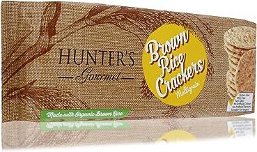 Hunter's Gourmet Multigrain Brown Rice Crackers - 100 gm