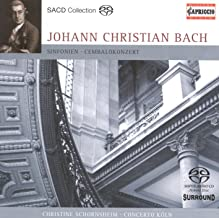 Bach, J.C.: Harpsichord Concerto in F Minor / Grand Overture (Symphony) for Double Orchestra / Symphony in G Minor