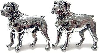 Rottweiler Dog Cufflinks