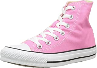Converse Unisex Chuck Taylor Classic Hi Pink Sneaker - 7...