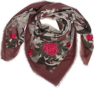 NEU! Hals Tuch Schal Perlen Stickerei VINTAGE-LOOK Damen  verschiedene Farben