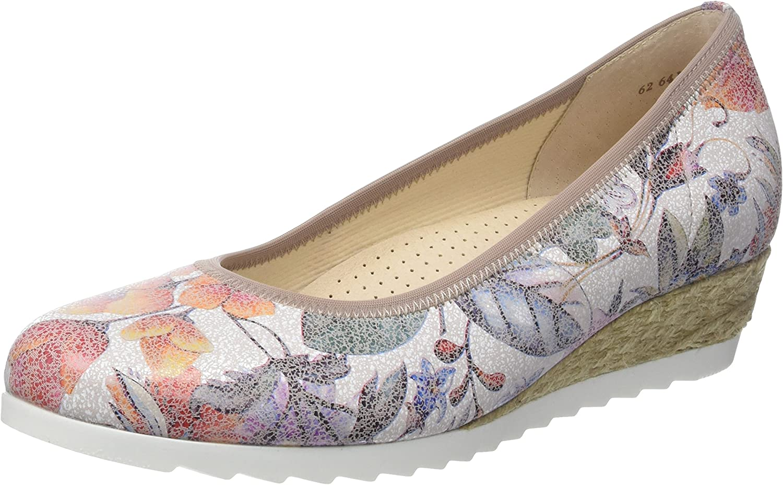 Gabor Epworth 641 - Flower Print Multi 40 (Floral) Womens shoes