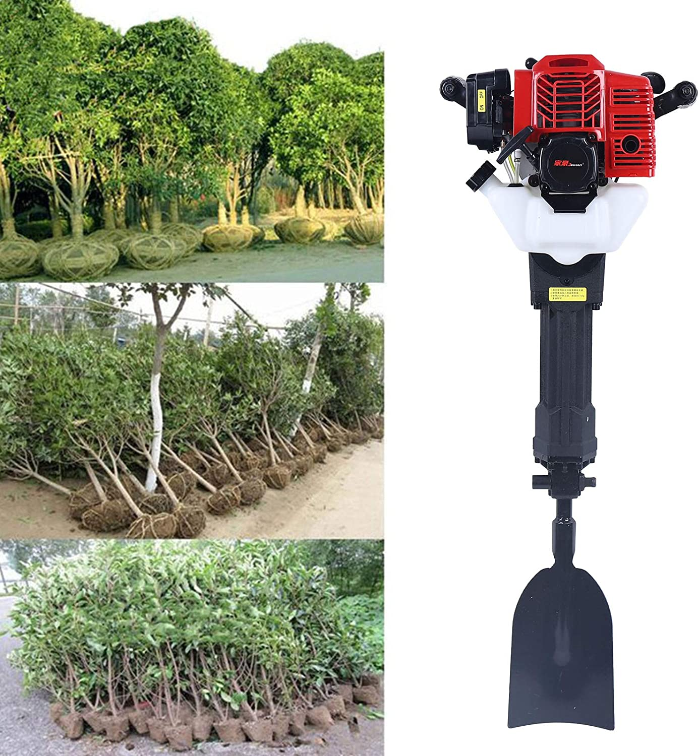 YIYIBYUS 52CC Inventory cleanup selling sale Portable Excavator Garden Digger Tree Air-Cooled Max 48% OFF