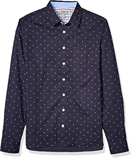Men's Big and Tall Easy Care Long Sleeve Button Down Shirt