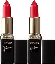 L'Oreal Paris Cosmetics Color Riche Collection Exclusive Lipstick, 401 Julianne's Red, 2 Count