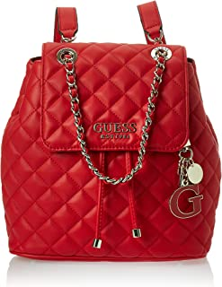 HWVG7667320 Red Guess GUESS HANDBAG MAIN ZAINO Donna