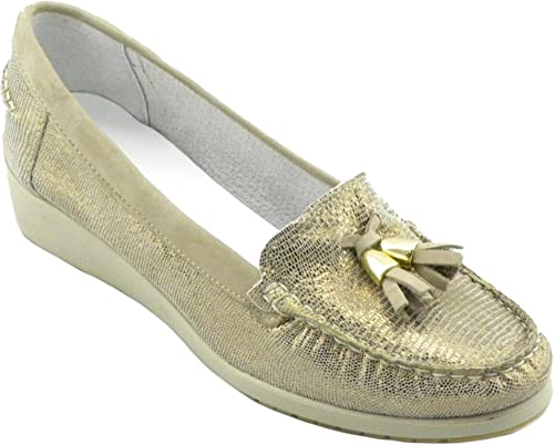 MELLUSO 01023E E0302 E0302 Chaussures Confortables pour Femme Bronze