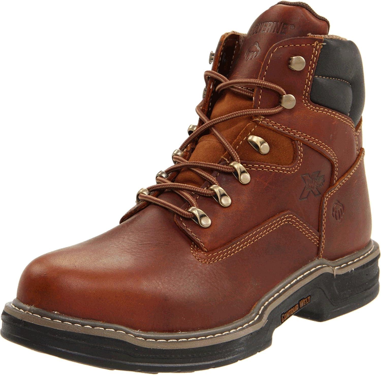 WOLVERINE Men's Raider latest Steel-Toe Boot Washington Mall 6