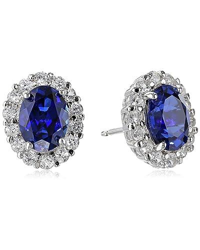 0d7ca38ad04e7 Sapphire Earrings: Amazon.com