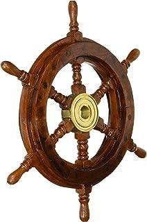 nautical ship wheel
