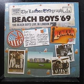 The Beach Boys - Beach Boys '69: The Beach Boys Live In London - Lp Vinyl Record