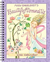 Mary Engelbreit 2021 Monthly/Weekly Planner Calendar: Beauty Is All Around Us