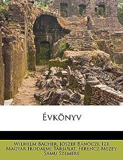 Évkönyv (Hungarian Edition)