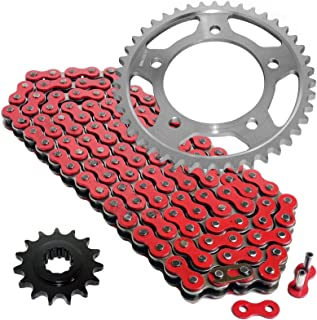 CALTRIC Red Drive Chain and Sprocket Kit Fits HONDA CBR600F2 CBR600F3 1991-1996
