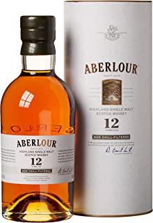 Aberlour 12 Years Old Non Chill-Filtered mit Geschenkverpackung Whisky 1 x 0.7 l