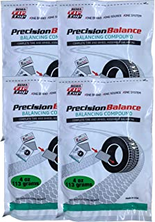 Rema Tip Top 4 PrecisionBalance Tire Balancing Compound Beads Kits - Drop in Bags - (4 oz. / 113 Grams) - (4 Kits)