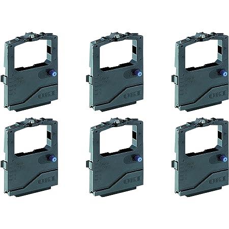 3 Mio Zeichen 2x kompatible Farbb/änder Print Plus Serie f/ür OKI Microline 190 Series 192 Elite 192 Plus 193 Elite 193 Plus 194 195 280DC ML182 Nylonband Schriftband 3.000.000 Zeichen