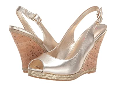 Lilly Pulitzer Krisie Wedge (Gold Metallic) Women