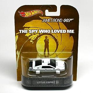 Lotus Epsrit S1 - The Spy Who Loved Me / James Bond 007 - Hot Wheels 2013 Retro Entertainment Series Die Cast Vehicle