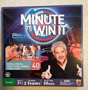 Mattel Minute To Win It 2011