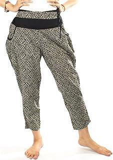 Lofbaz Women's ModernIC Printed Hmong Cotton Boho Pants