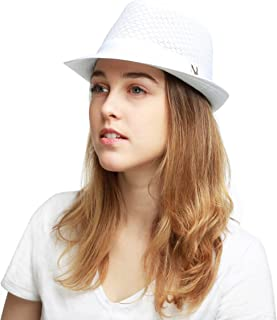 Best blue and white fedora Reviews