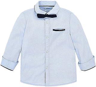 3.269 Mayoral Jungen Bekleidungsset festlicher 2-Teiler Hemd Bermuda dunkelblau-wei/ß