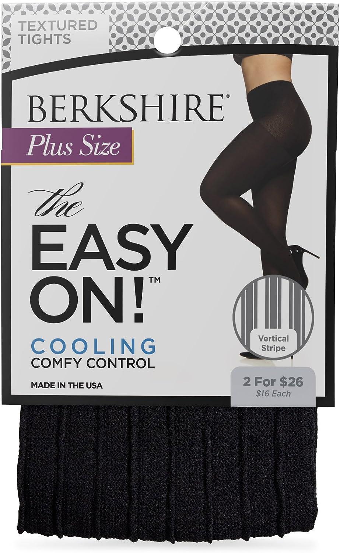 Berkshire Women's The Easy On! 40 Denier Vertical Stripe Tights