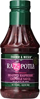 Fischer & Wieser Razzpotle Roasted Raspberry Chipotle Sauce, 20-Ounce Bottles (Pack of 6)