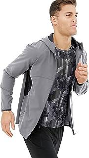 JINIDU Men's Running Coat Lightweight Windbreker Breathable Cycling Jacket …