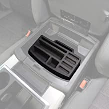 Red Hound Auto Center Console Organizer 2 Piece Stacking Set Vehicle Insert Compatible with Dodge Ram 1500 2500 3500 2013 2014 2015 2016 2017 2018 Black Only FITS Full Console Bucket SEAT Made in USA