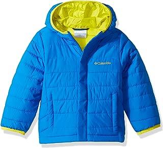 Columbia Boys' Big Powder Lite Puffer Jacket, Super Blue, Medium