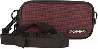 ChillMED Carry-All Diabetic Belt Bag Insulin and Supply Organizer Designed for Travel, Hiking, Walks, and Other Activities That Require Medication and Prescription Protection (Red)