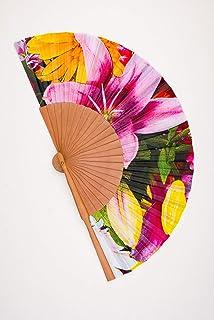 Ventaglio fiori rosa design C. Menendez possiede alta qualità e durata