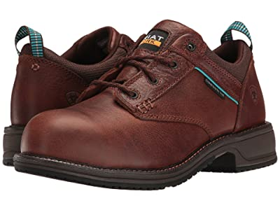 Ariat Casual Work Oxford SD CT (Nutty Brown) Women