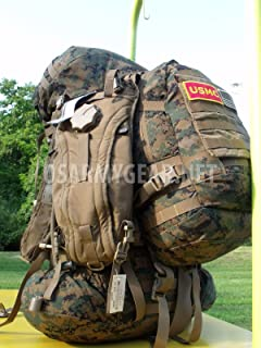 USMC GEN 2 Complete ILBE Back Pack Ruck Sack System Set + Assault Pack USGI