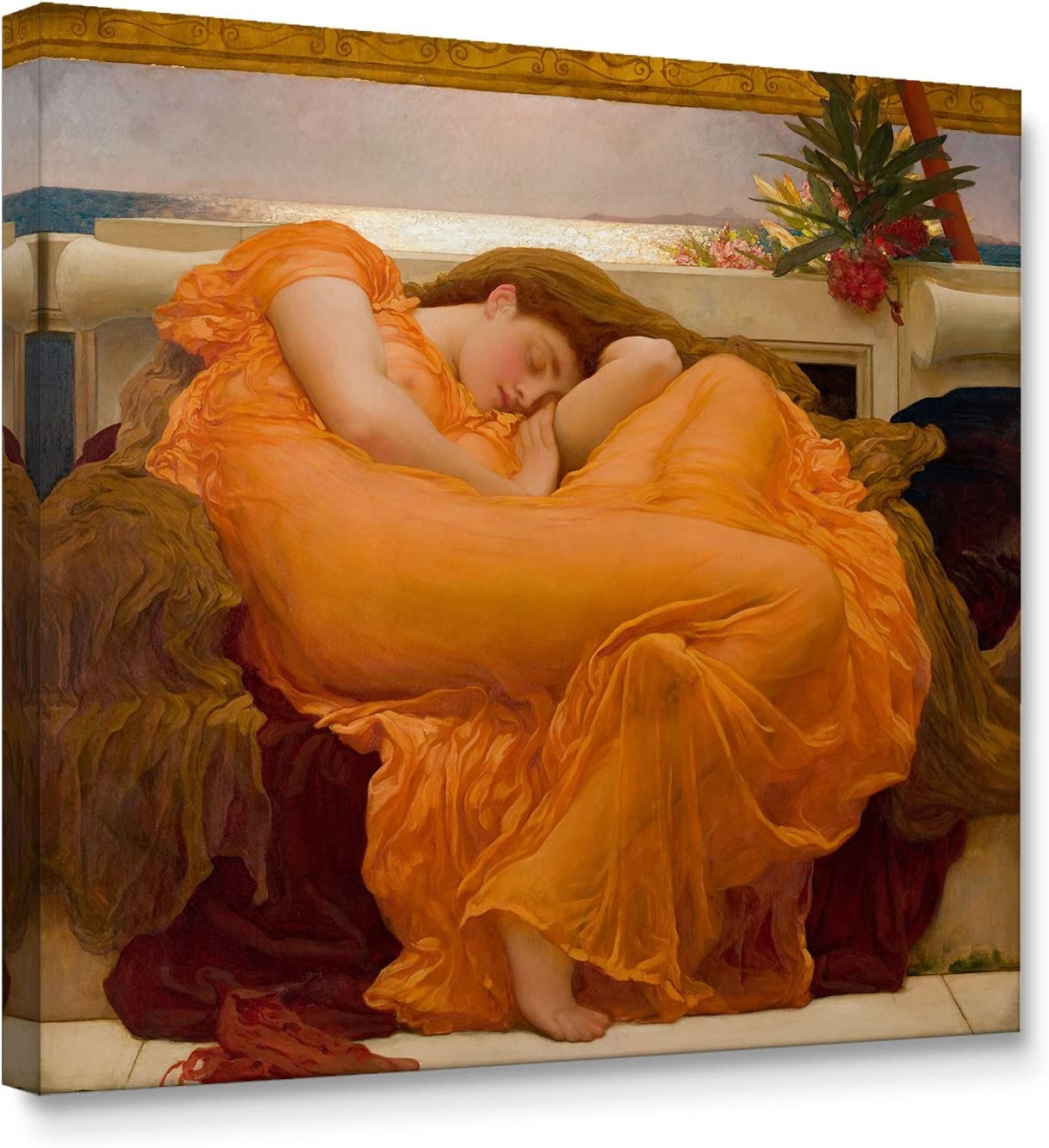 Niwo ART - Flaming June World's Series NEW Paintings Famous Deluxe Most C