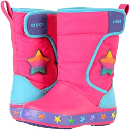 Crocs Kids - Lodge Point Lights Star (Toddler/Little Kid)
