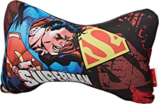Polyester Superman Graphic Neck Pillow
