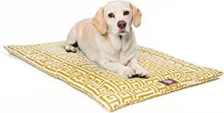 "Majestic Pet 36"" Towers Citrus Yellow Crate Dog Bed Mat Products"