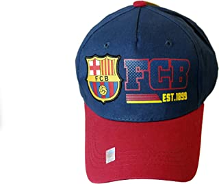 RHINOXGROUP FC Barcelona Authentic Official Licensed Soccer Cap