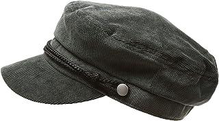 9bdc9d5bdc0522 MIRMARU Women's Winter Greek Sailor Fisherman Cabbie Cap Newsboy Baker boy  hat with Elastic Band