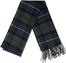 MacLeod of Harris Tartan Lambswool Scarf-Made in Scotland