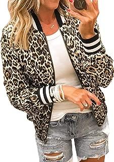leopard print bomber jacket womens