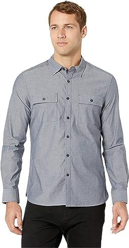 Long Sleeve Dynamic Two-Pocket Shirt - Chambray