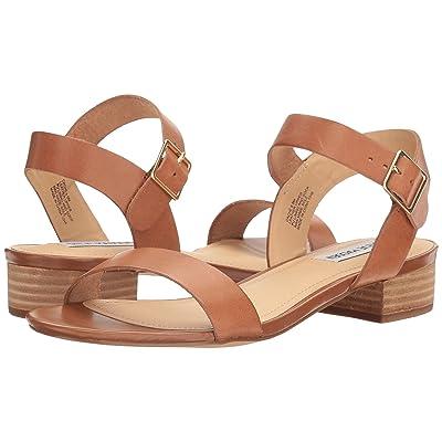 Steve Madden Cache Sandal (Cognac Leather) Women