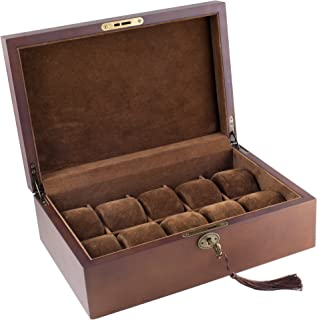 solid wood watch case