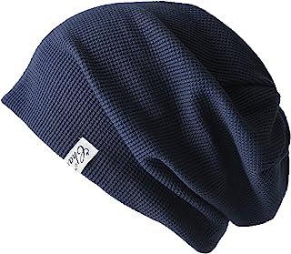 CHARM LARGE ニット帽 [ フリーサイズ / 全3色展開 (ワッフル × ストレッチ) ] ビッグワッチ コットン 帽子 (洗濯可能)