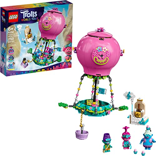 2021 LEGO Trolls World Tour Poppy's Hot Air Balloon Adventure 41252 Building Kit, an Ideal 2021 for Creative Play (250 popular Pieces) online sale